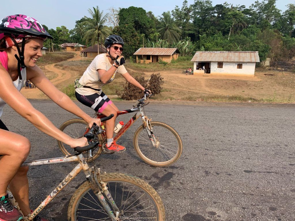 West Africa Cycling Challenge: Renée from Exile Medics shares her experience